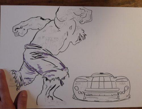Viper muss Hulken